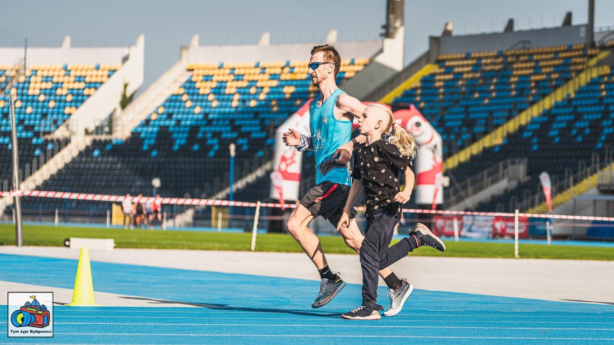 Finisz na półmaraton Bydgoszcz