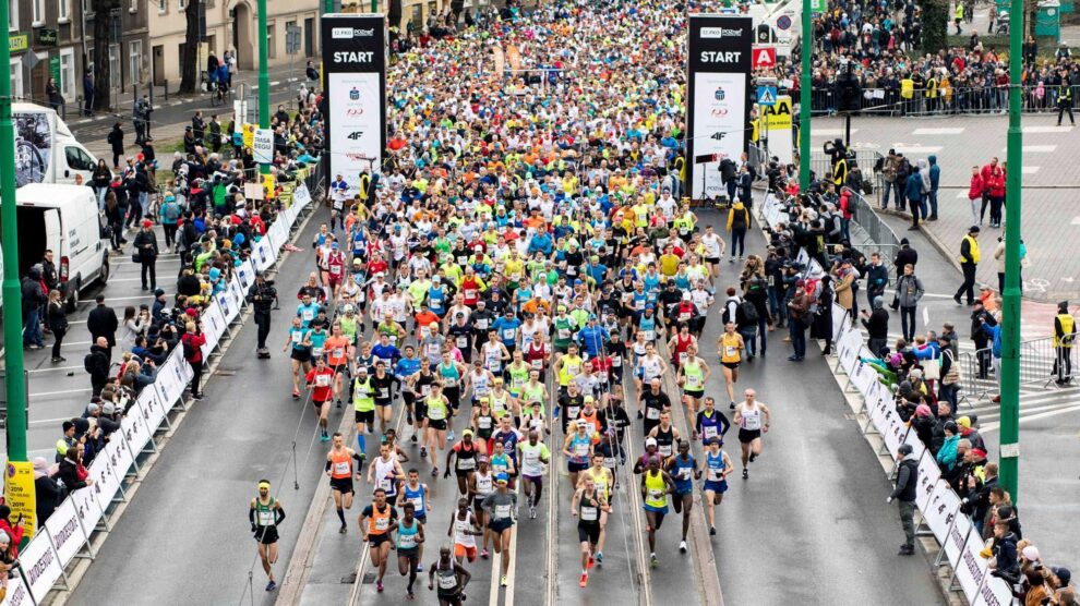 Tak się kiedyś biegało… Półmaraton Poznań